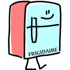 Antonomase illustrée par frigidaire