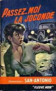 """En rester comme deux ronds de flan avec San Antonio dans """"Passez moi la Joconde"""""""