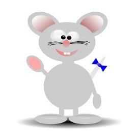 expression avec souris