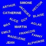 expressions avec prénom