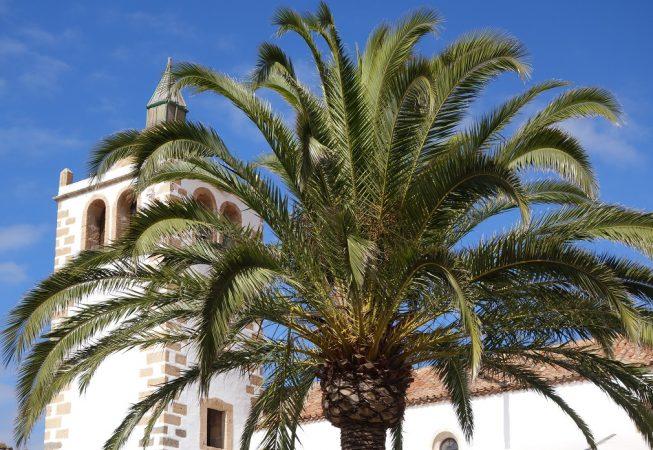 Eglise de Betancuria, Ville de l'ile de Fuerteventura (Canaries)