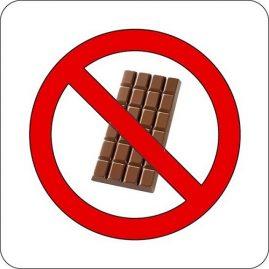 "chocolat interdit ""pas de bras pas de chocolat"""