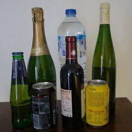 les boissons dans les expressions