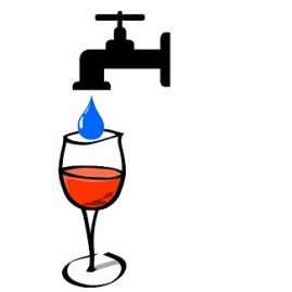 expression mettre de l'eau dans son vin