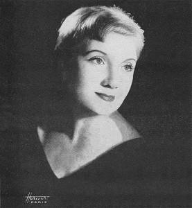Avoir le béguin selon Lucienne Delyle en 1957