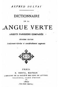 dictionnaire de la langue verte