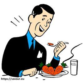 mange des carottes ça rend aimable