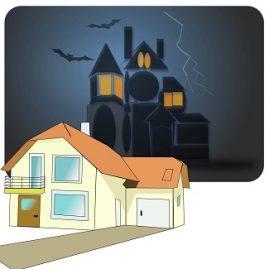 Maison en L ou château hanté ?