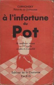 A la fortune du pot - A l'infortune du pot