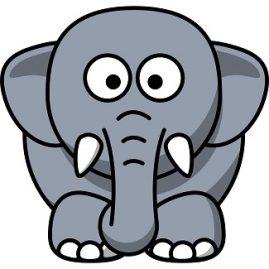 expression avec elephant