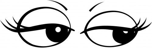 Faire des yeux de biche