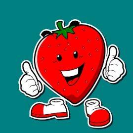 expression avec fraise