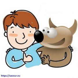Comme Saint Roch et son chien