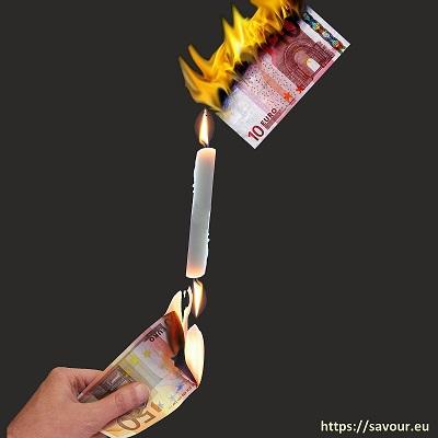 brûler la chandelle par les deux bouts