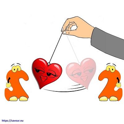 entre les deux mon coeur balance