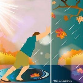 faire la pluie et le beau temps