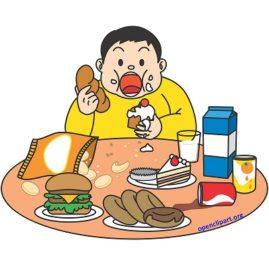 manger comme un chancre