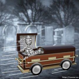 rouler à tombeau ouvert