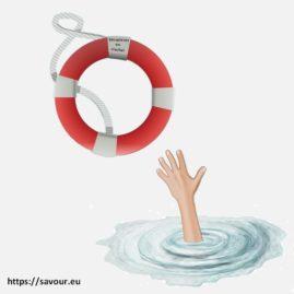 se noyer dans un crachat
