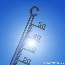 une chaleur caniculaire