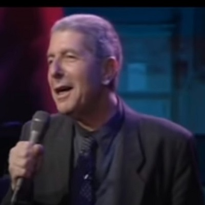 Dance me to the end of love – Leonard Cohen